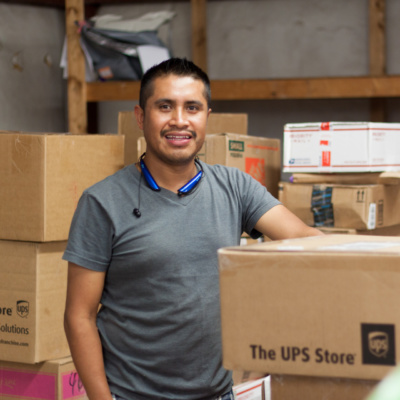 Walter Vicente, Plant Manager and Worker-Owner, Opportunity Threads