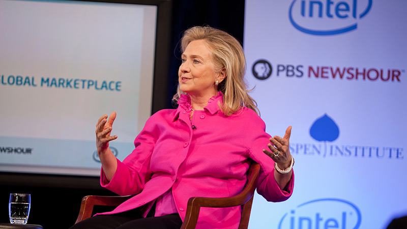 Innovation and the Global Marketplace - Interview with Secretary of State Hillary Clinton