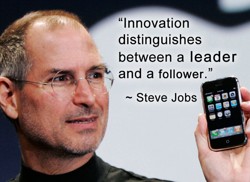 Steve Jobs - Innovation Quote