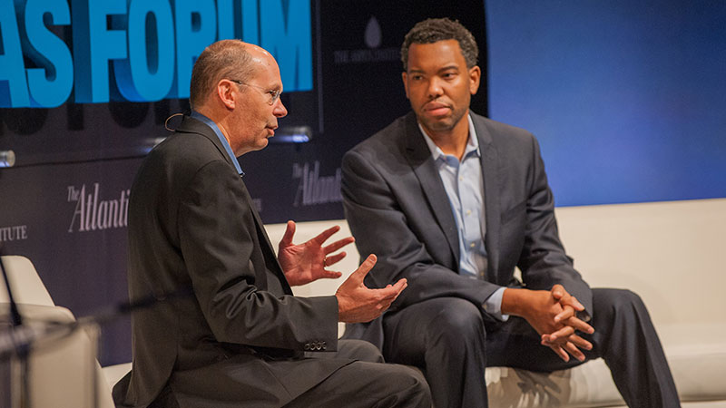 Ta-Nehisi Coates and Alex Kotlowitz