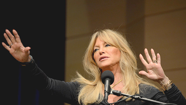 Goldie Hawn Discusses Mindfulness and Importance of Neuroscience Education