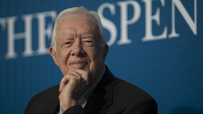 Former President Jimmy Carter and Rosalynn Carter