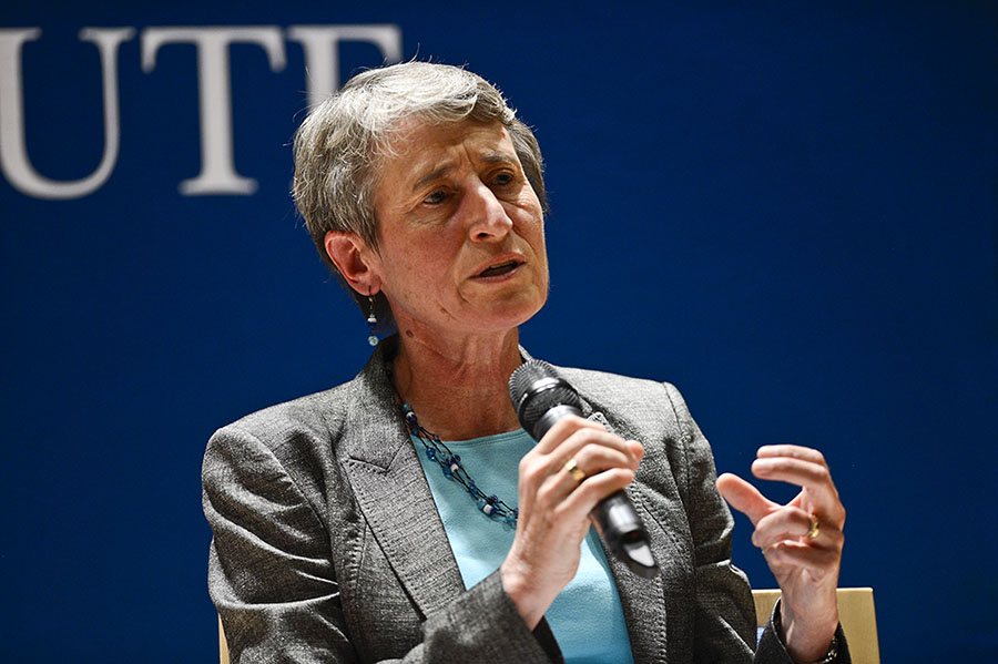 US Interior Secretary Sally Jewell Discusses Collaboration, Conservation, Natural Gas, and More