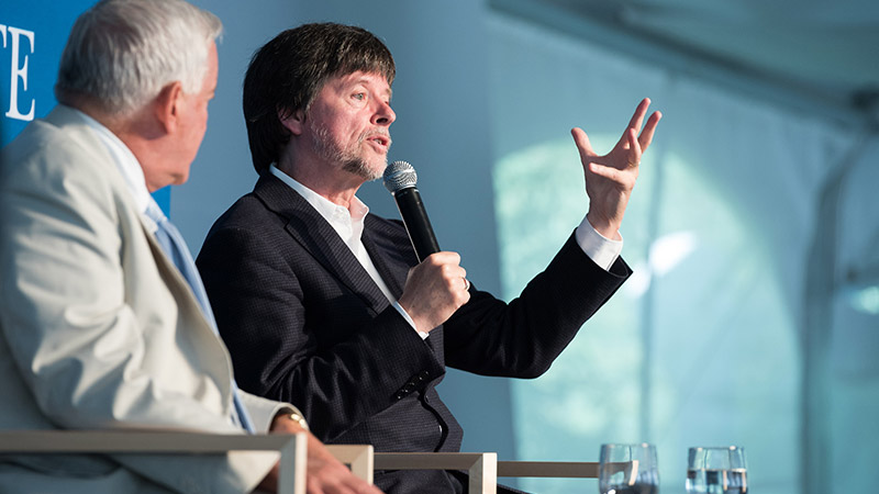 Ken Burns: History, Storytelling, and Film