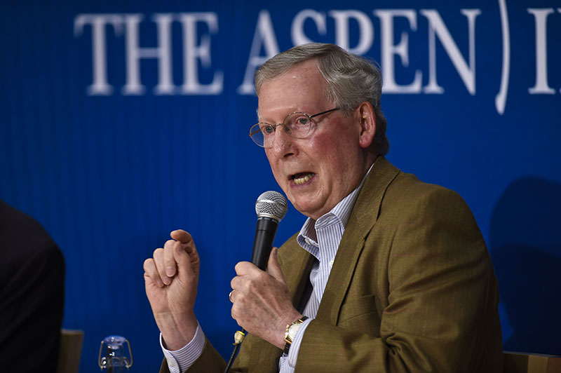 Mum on Election 2016 Candidates, McConnell Says GOP Needs Minorities to Win
