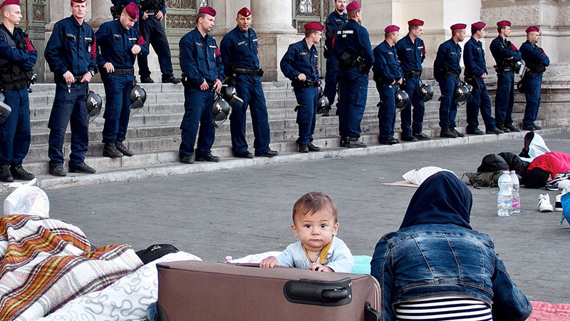 On the Refugee Crisis in Europe: No Island Is an Island