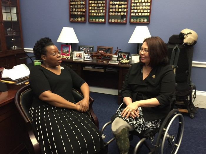 5 Questions with Rep. Duckworth and Her AmeriCorps SOTU Guest