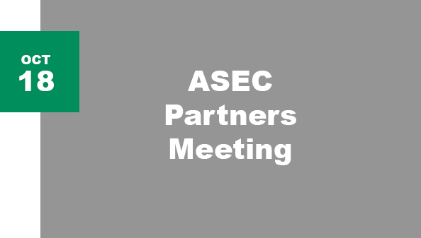 ASEC Partners Meeting