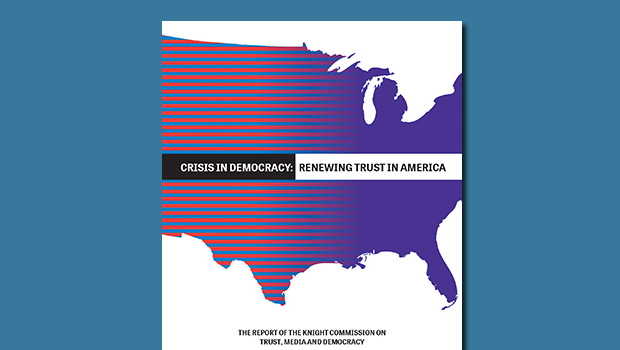 Crisis in Democracy: Renewing Trust in America