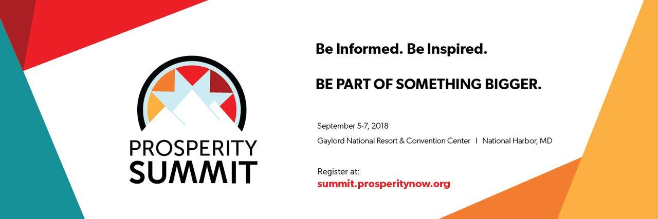 The 2018 Prosperity Summit