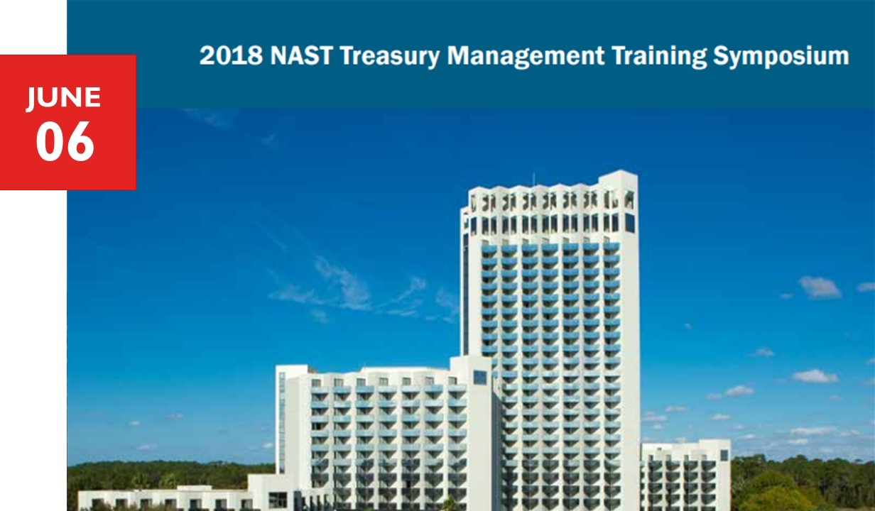NAST Treasury Management Symposium