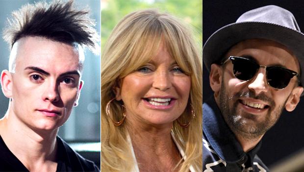 2015: Cameron Carpenter, Goldie Hawn, JR