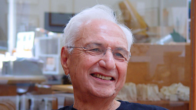 2018: Frank Gehry