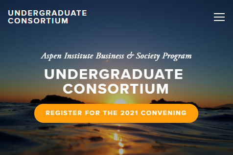 Register for the 2021 Undergraduate Consortium