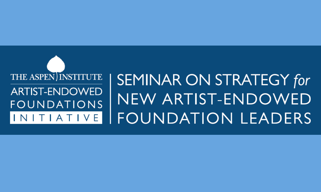 2016 Seminar on Strategy for New Foundation Leaders