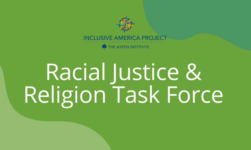 Racial Justice and Religion Task Force Announcement