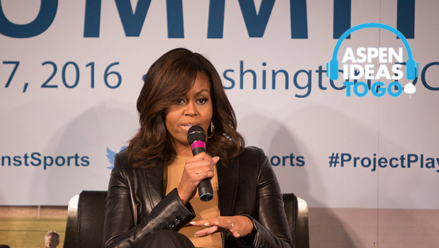 Michelle Obama on Making Sports Accessible