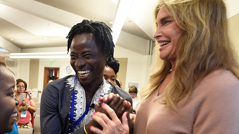 Caitlyn Jenner's Message for Trans People in Africa