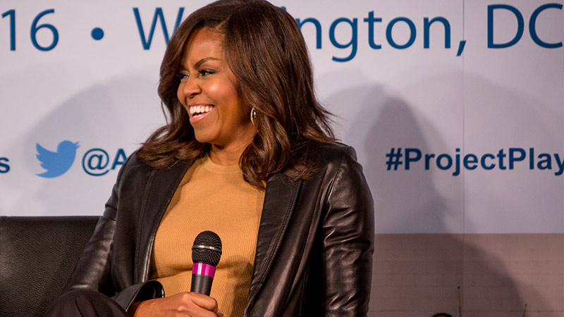 Michelle Obama at Project Play Summit 2016