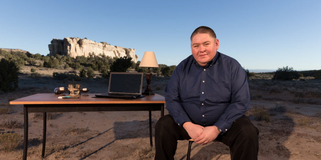 Shawn Lee is a student at Rio Salado College in Arizona, who  was motivated to return to school and finish his degree after the birth of his son. (Photo Credit: The Bill and Melinda Gates Foundation)