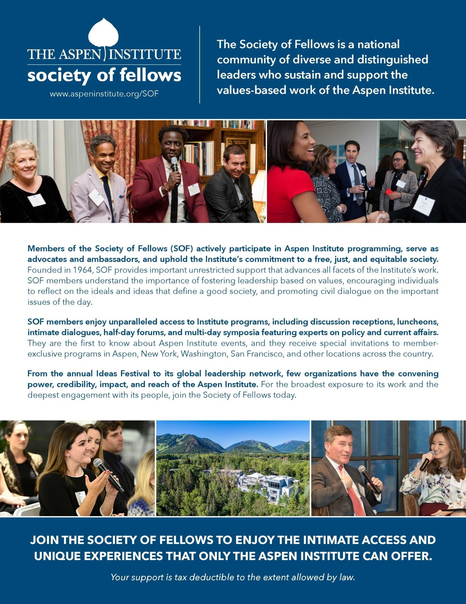 Membership Levels - The Aspen Institute