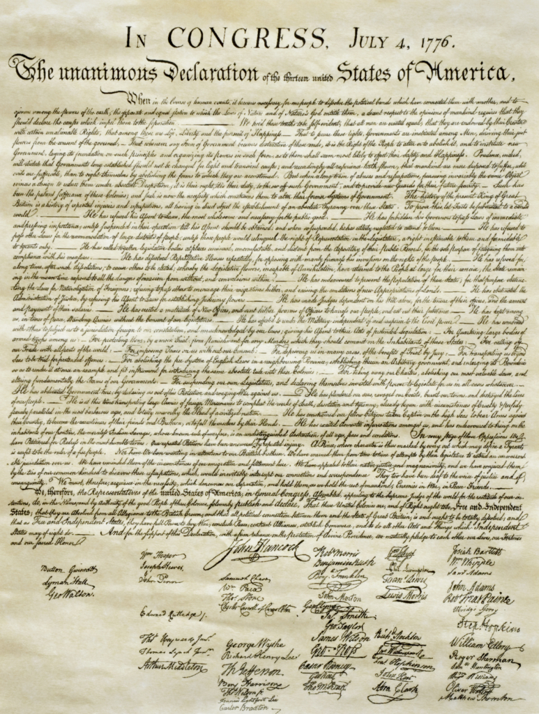 the paradox of the declaration of independence the aspen institute the united states declaration of independence photo credit istockphoto
