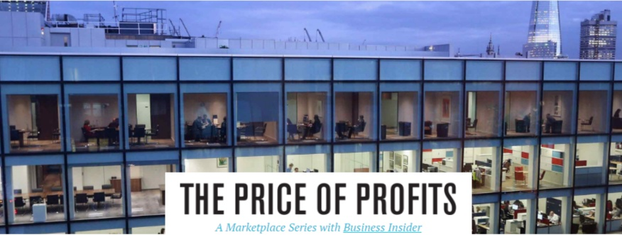 The Price of Profits