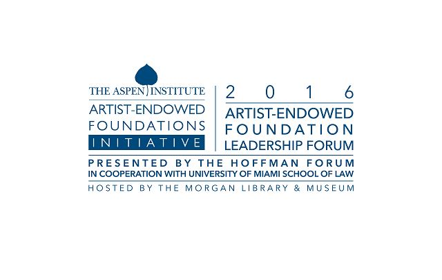 2016 Artist-Endowed Foundation Leadership Forum