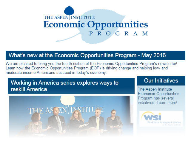 EOP Newsletter - May 2016