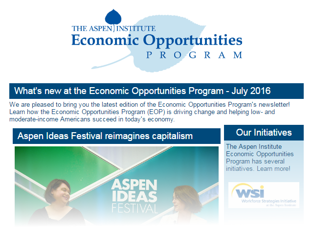 EOP Newsletter - July 2016
