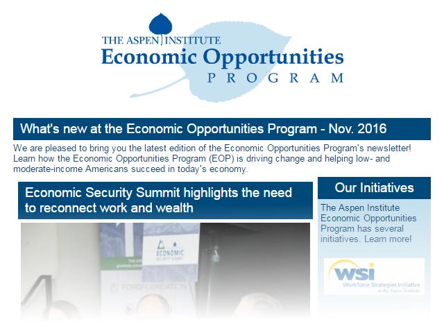 EOP Newsletter - November 2016