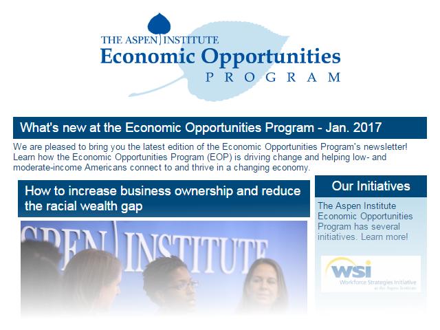 EOP Newsletter - January 2017