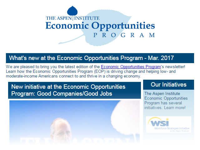 EOP Newsletter - March 2017