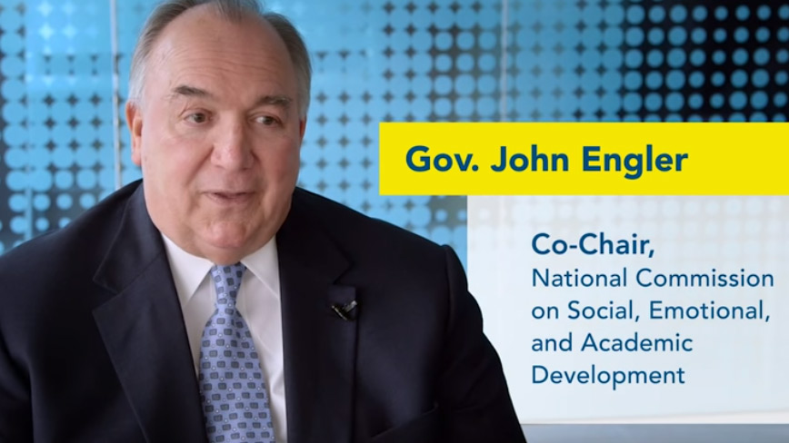 National Commission Co-Chair Governor John Engler