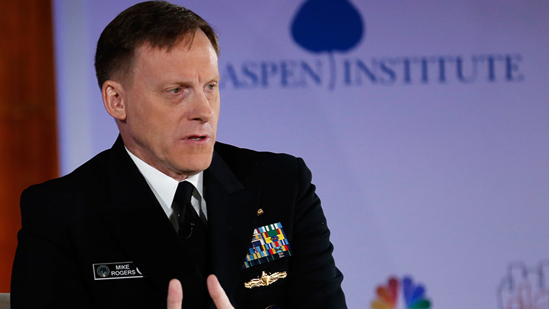 NSA Director at Cambridge Cyber Summit
