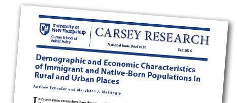 Data Snapshot on Rural Immigrants