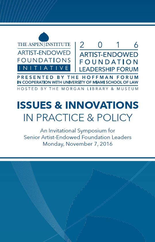 2016 Program Booklet: AEF Leadership Forum