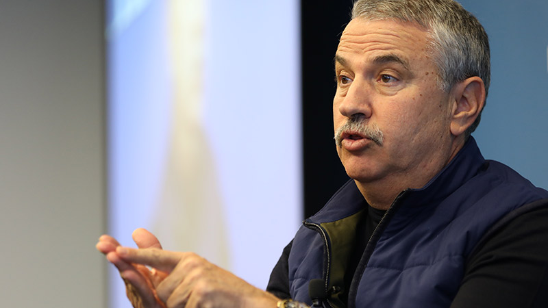 Tom Friedman's 'Thank You For Being Late'