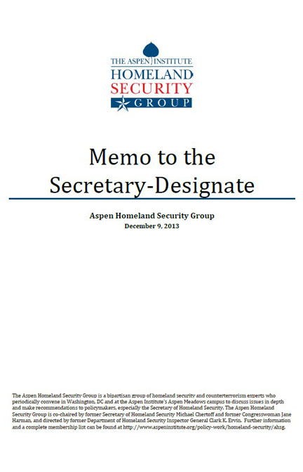 Memo to the Secretary-Designate