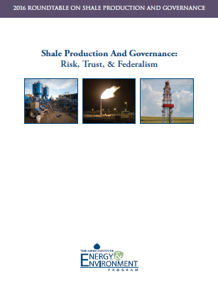 Report from the Roundtable on Shale Production & Governance