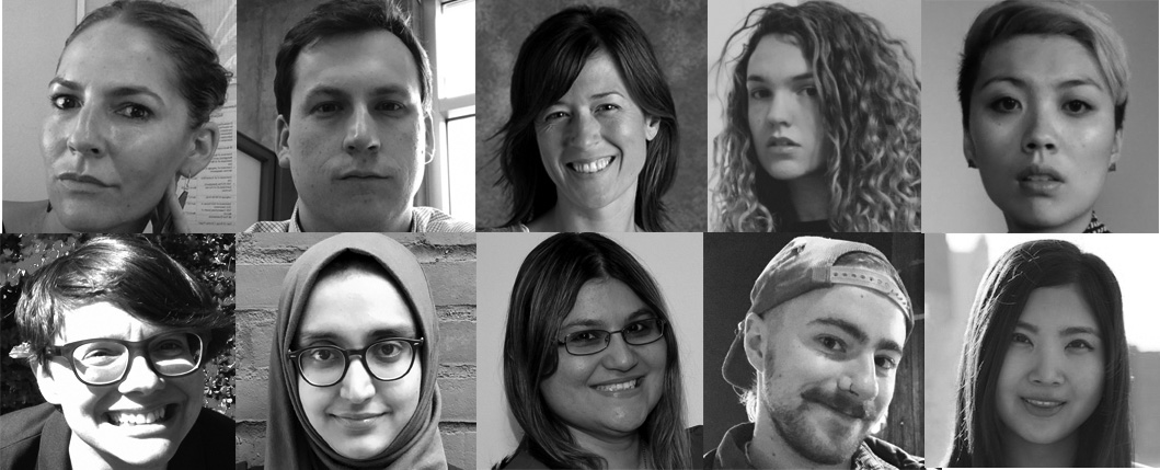 2017 Emerging Writer Fellows Headshots