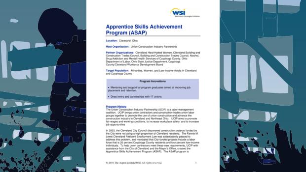 Construction Pre-Apprenticeship Programs - The Aspen Institute