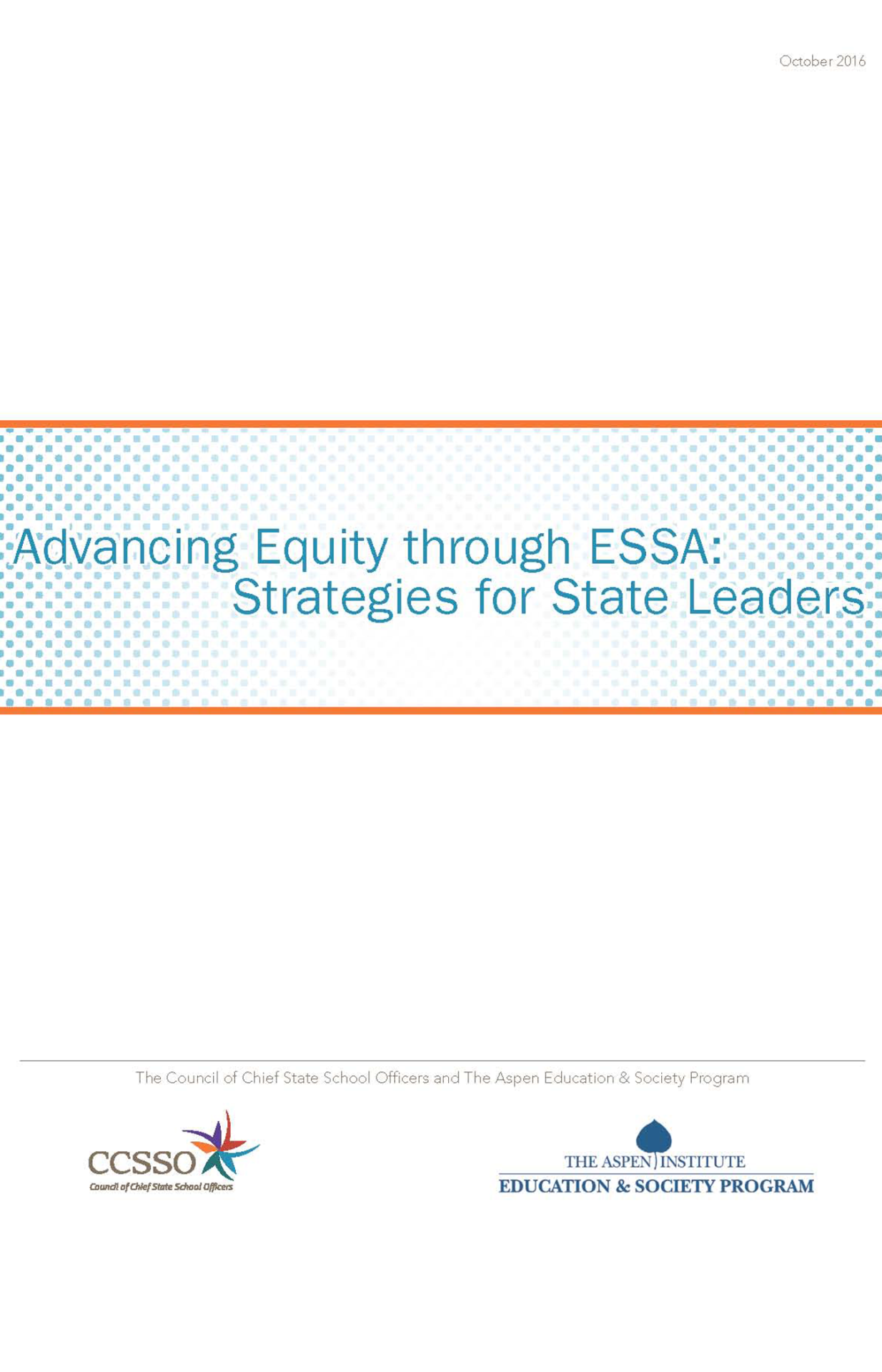 Advancing Equity through ESSA