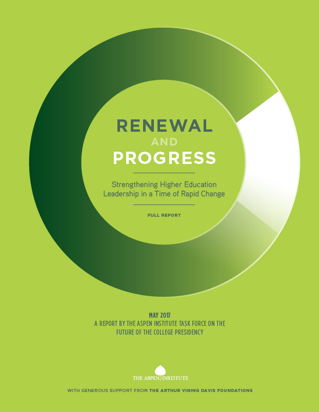 Renewal and Progress