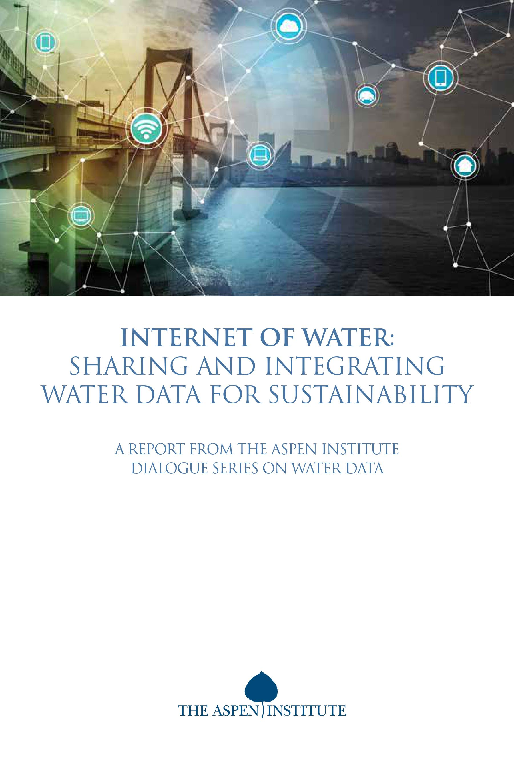 Internet of Water: A Report on Sharing Water Data