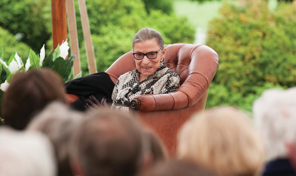 Ruth Bader Ginsburg at RAAF