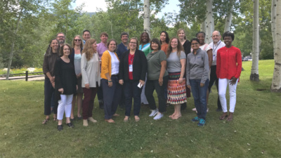 The 2018-19 Job Quality Fellows meet in Aspen in August 2019.