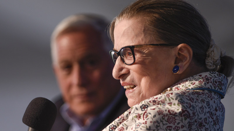 Justice Ginsburg on the Legacy of Justice Scalia