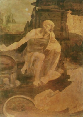 St. Jerome in the Wilderness (Leonardo)
