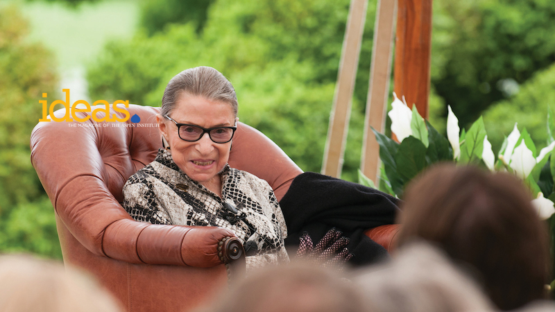 Ginsburg and the Civility Challenge